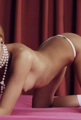 Alina blond girl