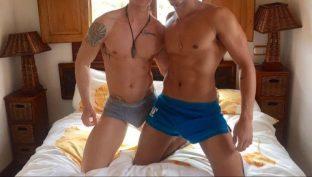 2 hot christsmas boys